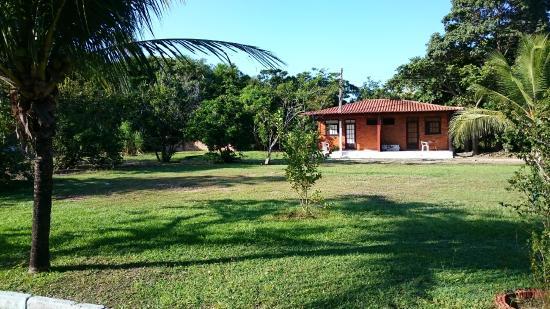 Park Náutico: Visão do jardim
