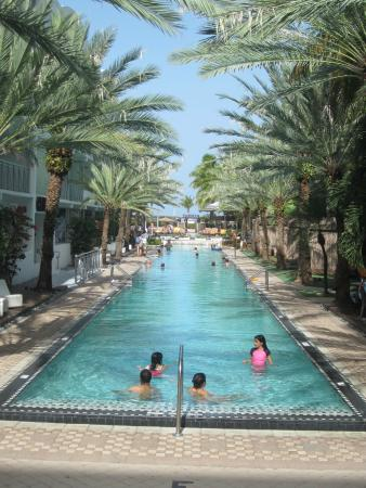 Art Deco Walks National Hotel The Longest Pool On Miami South Beach