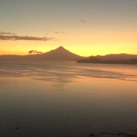 Hotel Cumbres Puerto Varas: Vista incrível