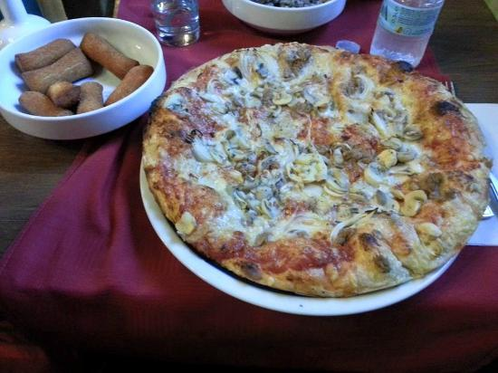 Hotel-Pension Tripic: pizza