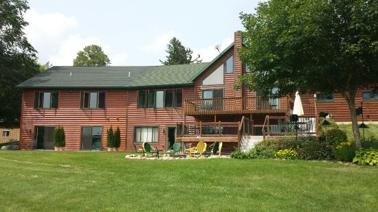 Garfield, MN: The B&B overlooks a pond...ask to borrow the binocs for birdwatching