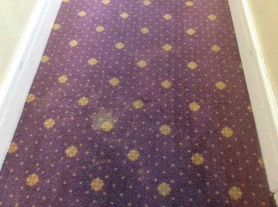 Hotel Villa de Laredo: Bedroom carpet