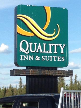 High Level, Kanada: There's no road sign advertising it because it's actually IN the Quality Inn & Suites, so just l