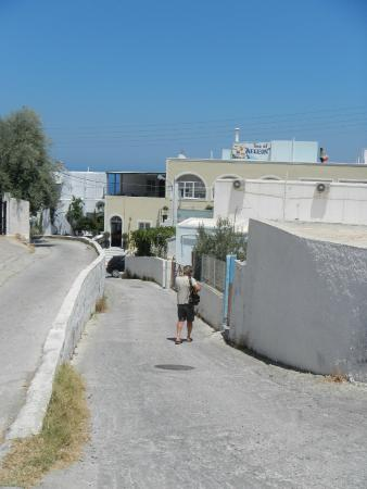 Sea of Aegeon: acces a l'hotel