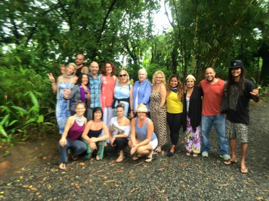 Vida Asana Eco-Retreat and Yoga Center: The group