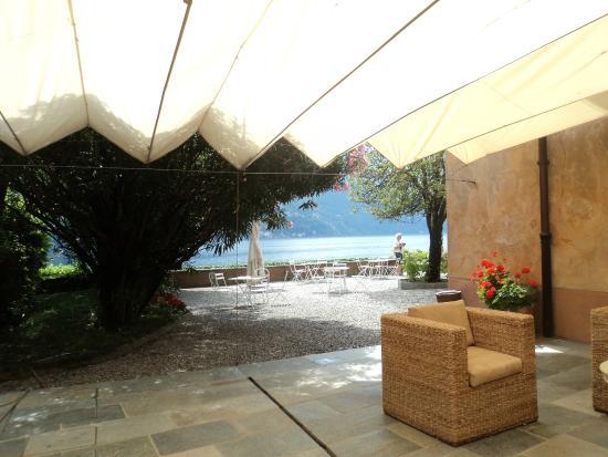 Villa Regina Teodolinda: terrasse