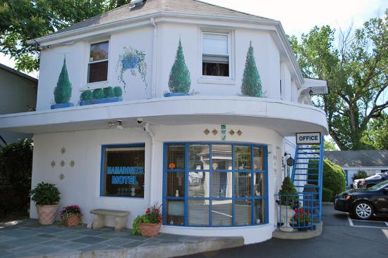 Mamaroneck Motel: Cute retro motel!