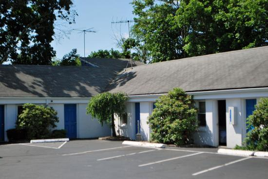 Mamaroneck Motel: The rooms all face the parking lot