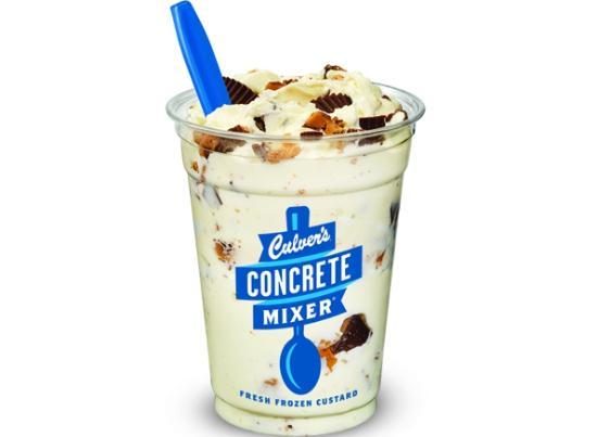 Culver's: Reese's concrete mixer