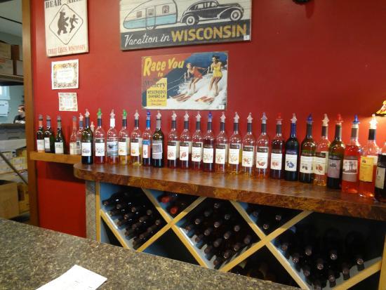Three Lakes Winery: Vinhos
