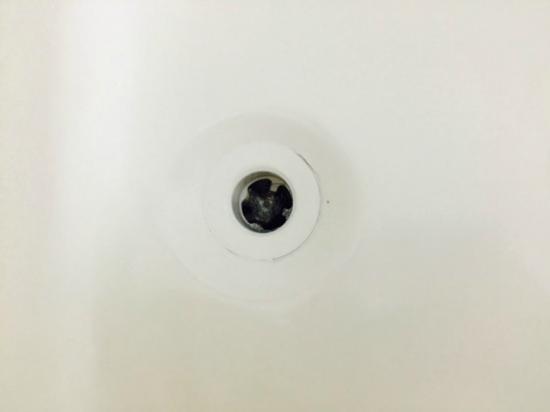 Meadow Court Inn : Hair in the tub drain.