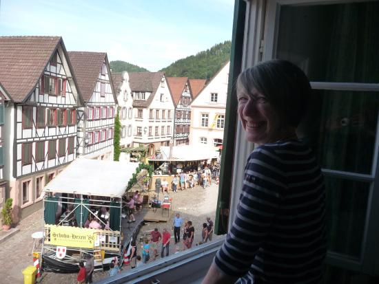 Hotel-Gasthof Sonne: Room with a view