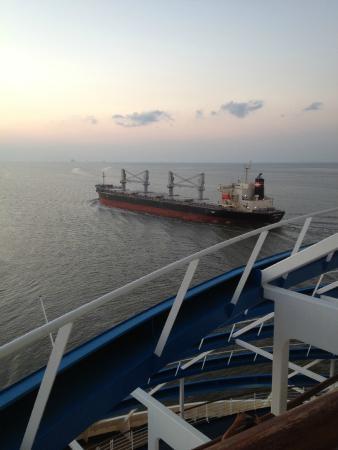 Cargo Ship Picture Of Port Of Galveston Galveston