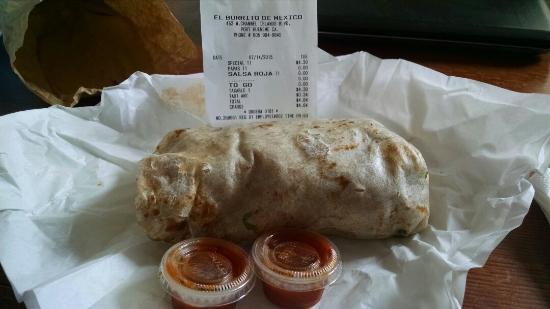 El Burrito De Mexico