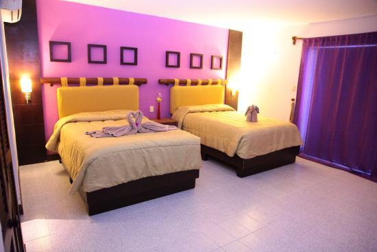 Vista del Mar Boutique Hotel: Habitación con 2 camas