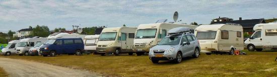 Arctic Motell Kautokeino Camping bobiler