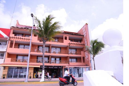 Vista del Mar Boutique Hotel: Frente de hotel