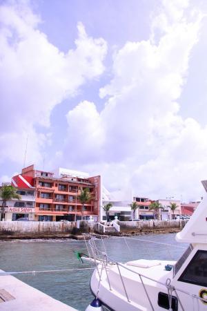 Vista del Mar Boutique Hotel: Vista desde el muelle