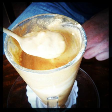Choco Cafe: Coffee 'floater'