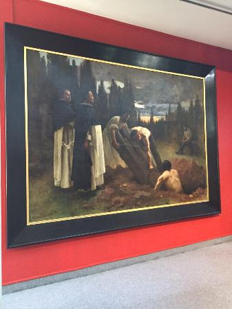 Musee Sainte-Croix: André BROUILLET 1857-1914 violation du tombeau de l'évêque d'Urgel par les inquisiteurs Dominica