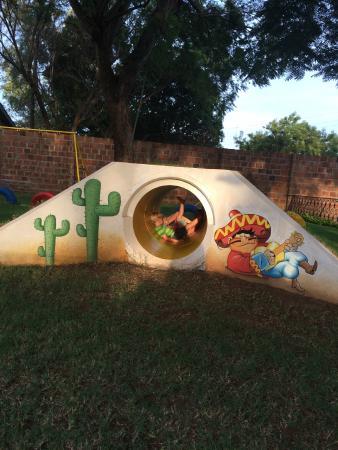 La Fuente Gardens: Part of the play area at La Fuente