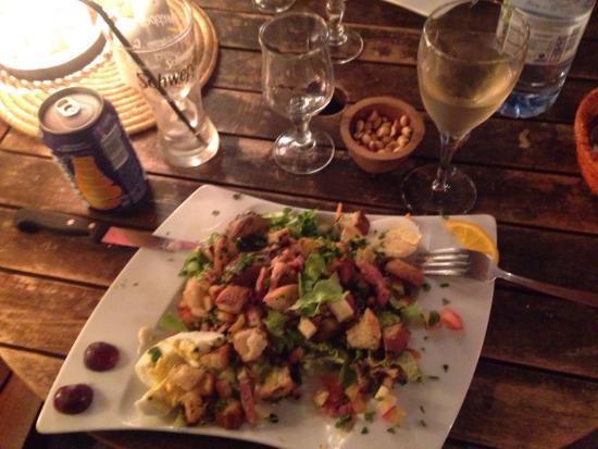 Le Manta: Salade paysane un régal !! A essayer !!