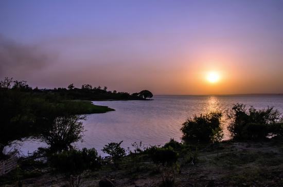 Dunga Bay: Wonderful sunsets