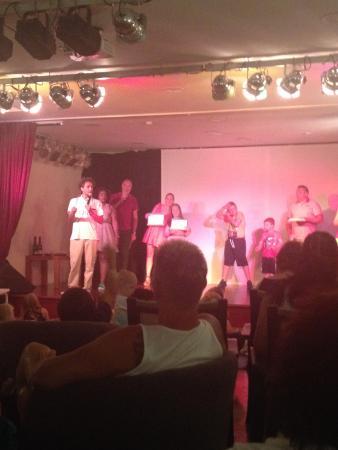 Fiesta Hotel Tanit: Collecting award