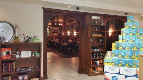 7 Spice: Interior Restaurant Entrance