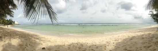Coconut Court Beach Hotel: view from the beach