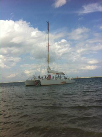 Lookout Cruises: The catamaran itself