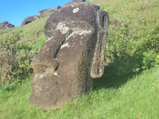Rano Raraku: Moai del crater