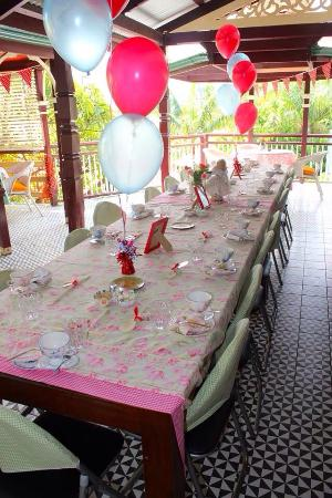franklin villa bridal shower high tea fifties housewife themed