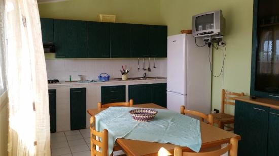 Residence La Conchiglia: cucina