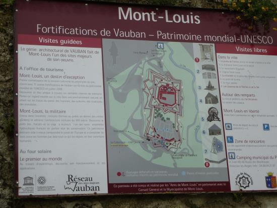 La Citadelle de Mont-Louis : plattegrond