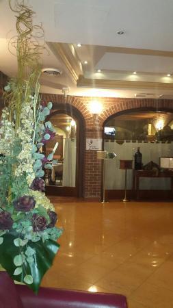 AS Hotel Monza: Esco dalla camera ed eccomi al ristorante!