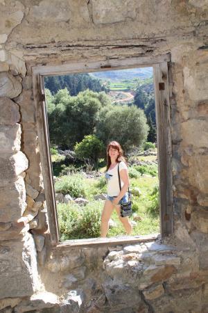 Paleo Pili: Aufnahme aus einem verfallenen Gebäude
