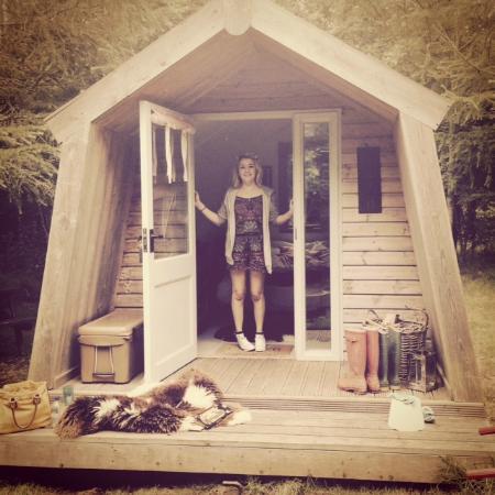 Cwtch Camp: Cabin Cariad