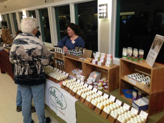 Drayton Valley Evergreen Farmers' Market: Just Soap vendor
