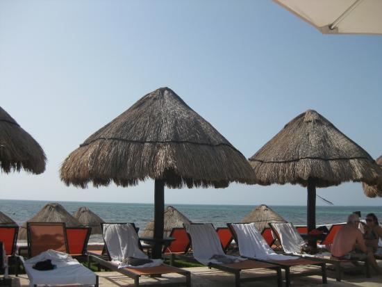 Moon Palace Cancun: Poolside view