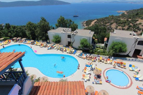 Bodrum Holiday Resort & Spa: Вид из номера 1207