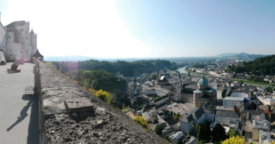 Fortress Hohensalzburg: The view from the tower