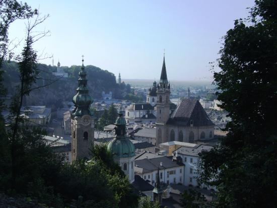 Fortress Hohensalzburg: View of the cathedral