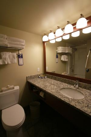 Best Western Plus Barclay Hotel: Newly renovated bathrooms