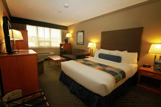Best Western Plus Barclay Hotel: Standard Queen rooms with sitting area
