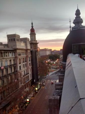 Vista Hacia La Av De Mayo Picture Of Hostel Estoril