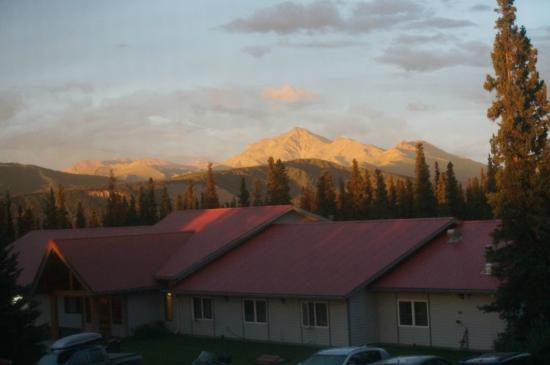 Healy, AK: Sun setting