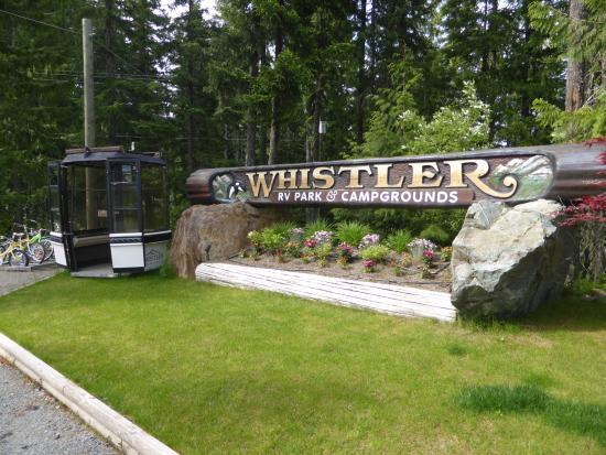 Whistler RV Park & Campgrounds: de camping