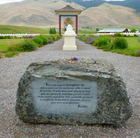 Engraved stone picture of garden of one thousand buddhas arlee tripadvisor Garden of one thousand buddhas