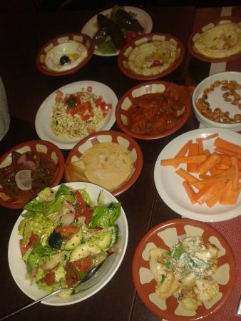 menu dawali (antipasti) - foto di dawali, milano - tripadvisor - Cucina Libanese Milano